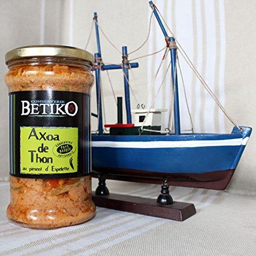 Axoa de thon au piment d'Espelette