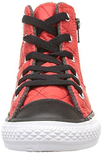 Converse All Star Hi Zip Laterale Tex - C2 Herren High-top Rot (c.red/black Trapuntato)