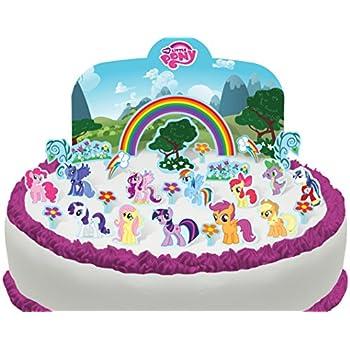 Cakeshop PRECUT My Little Pony Edible Cake Scene 27 pieces