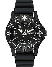 Traser 100325Hombres de P 6600tipo 6mil-g negro goma negro Dial reloj