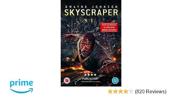 Skyscraper (DVD) [2018]: Amazon co uk: Dwayne Johnson, Neve