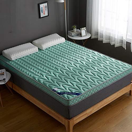 Unbekannt WL Faltbare Tatami-fußmatte,verdicken Futon Matratze Weiches Schlafzettel Für Studentenwohnheim Home,10cm-grüna 100x200cm(39x79inch)