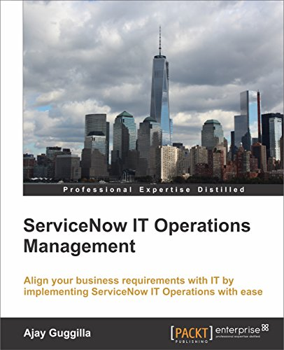 Free ServiceNow IT Operations Management PDF Download