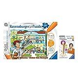 """tiptoi Ravensburger 2er Set 00523 00700 Puzzeln, Entdecken, Erleben: """"Beim Kinderarzt Stift mit Player"""