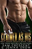 Claimed As His (Mail Order Brides, 2) (English Edition)