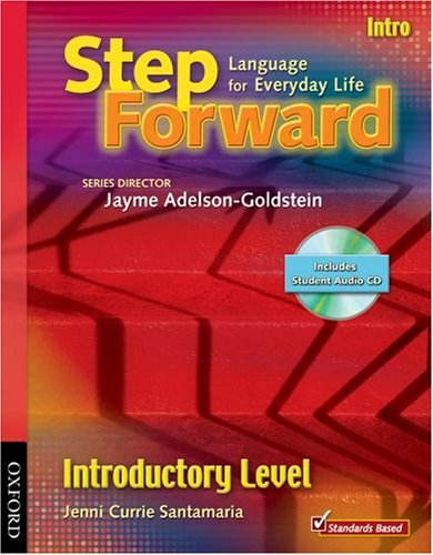 Step Forward Intro Student Book with Audio CD and Workbook Pack by Jenni Currie Santamaria (2008-11-10)