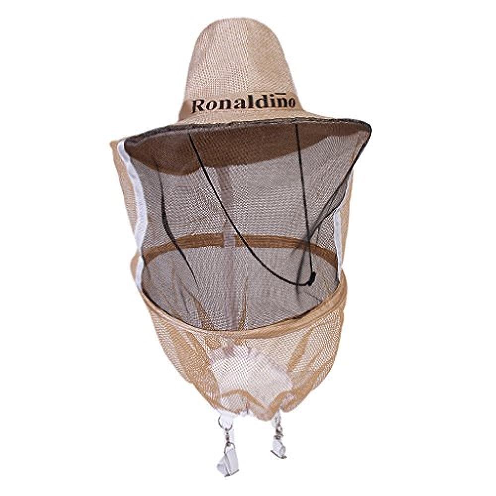Sharplace Imker Mütze Bienenhut und Schleier mit Gesicht Maschenweite Schutzkappe Moskito Schutz