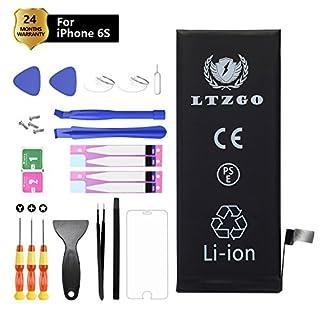 LTZGO Akku für iPhone 6S Batterie 1715mAh Battery Lithium-Ionen Accu Enthält Akku-Wechsel Kit mit Klebestreifen Akku-Austausch Anleitung