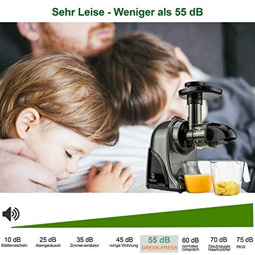Nutrilovers Slow Juicer GREEN-PRESS - 9
