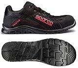 Sparco s0751743nrnr Practice Sneaker, Schwarz, Größe 43