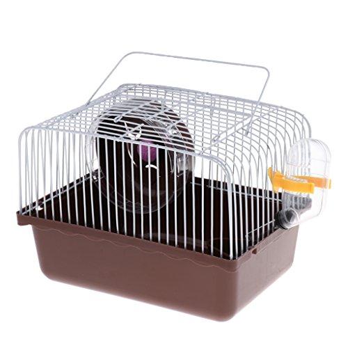 LOVIVER Hamster Mini Reise Carrier Käfig Für Kleine Haustiere Mäuse Ratten (Hamster Käfige Für Kleine)