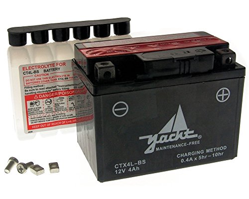 Batterie CTX4L-BS / YTX4L-BS 12 Volt [ inkl.7.50 EUR Batteriepfand ]