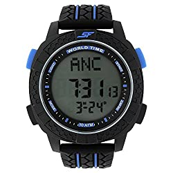 SONATA SF by Sonata Carbon II Series Digital Watch (77058PP03J)