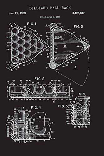 Billiard Ball Rack: Journal - Pool Game Sheet Log Book (Blank Lines) por Mainly Merch