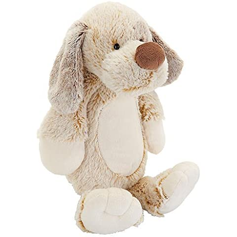 Babies R Us Plush 11.5 inch Two Tone Puppy by Babies R Us