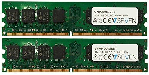V7 V7K64004GBD V7 4GB DDR2 PC2_6400 _ 800MHZ DIMM