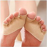 ECYC® Anti Slip High Heels Sandale Unsichtbare Half Footie Toe Socken preisvergleich bei billige-tabletten.eu