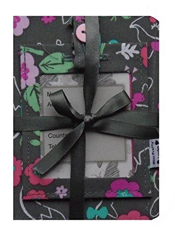 Woodland Walk Foxes et lapins Passport Porte-monnaie et bagagerie ƒtiquette cadeau