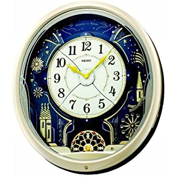 Seiko Melody in Motion Wall Clock(QXM239ST)