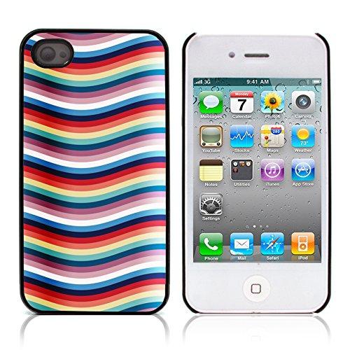 Graphic4You PLAID Muster Harte Hülle Case Tasche Schutzhülle für APPLE IPHONE 4 und 4S Design #17
