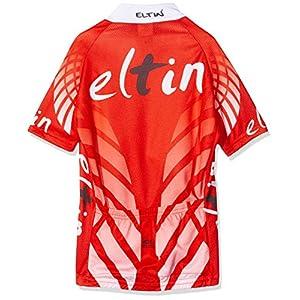 Eltin E0909 Conjunto con Maillot y Culote, Infantil, Rojo, 12 años