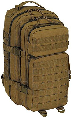MFH US Rucksack, Assault I, Basic, Coyote Tan -