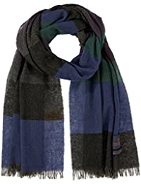 Scotch & Soda Men's Lightweight Scarf, Multicoloured (Combo A 0217), One Size