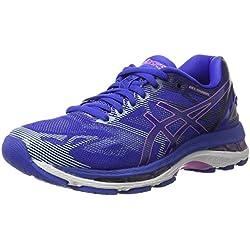Asics Gel-Nimbus 19, Chaussures de Running Femme, Bleu Purple/Violet/Air Y Blue, 38 EU
