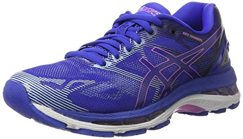 Asics Women's Gel-Nimbus 19 Running Shoes, Blue (Blue Purple/Violet/Airy Blue), 7 UK...
