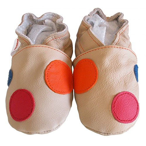 bbkdom ,  Scarpine prima infanzia bambino beige Pointures 23-24 (18 à 24 mois) beige