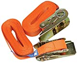 RATCHET TIE DOWN STRAPS, ENDLESS, 5M, X2 84105025 By HILKA TOOLS