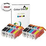 Colour Direct 2 Conjuntos (10 Tinta Compatible Cartuchos PGI 570XL CLI 571 XL- Reemplazo para Canon Pixma MG5750 MG5751 MG5752 MG5753 MG6850 MG6851 MG6852 MG6853 MG7750 MG7751 MG7752 MG7753