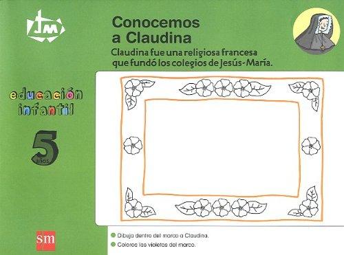 Conocemos a Claudina. 5 años. Congregación de Jesús-María [Catalán] - 9788467522587