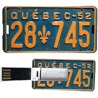 My Custom Style® Confezione risparmio da 2 Pen Drive USB rettangolari (3x6cm) ultrapiatte (0,3mm) modello