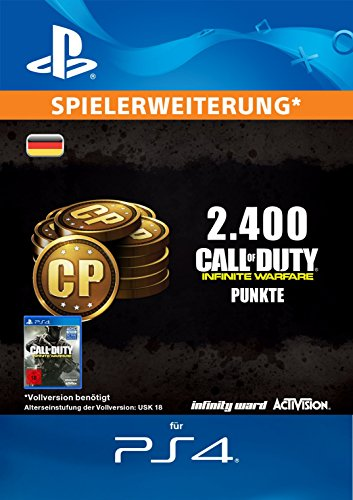 Call of Duty: Infinite Warfare 2400 Points Edition [PS4 Download Code - deutsches Konto]