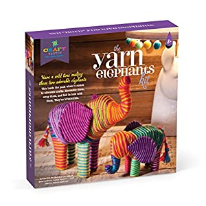 Anna Williams- Kit CREA Elefantes con Hilos, Multicolor (1)