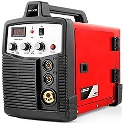 Greencut MIG-185 Poste à souder électrique fil continu Orange 185 A