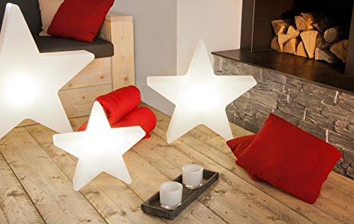 8 seasons design dekorationsleuchte stern shining star. Black Bedroom Furniture Sets. Home Design Ideas