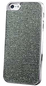 Générique - Coque iPhone 5/5S Steel Lines Silver Edition-Gris anthracite