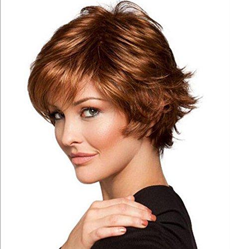 opäischen heißer Verkauf hitzebeständig lockige kurze Haare Perücken (Günstige Afro Perücken Für Verkauf)
