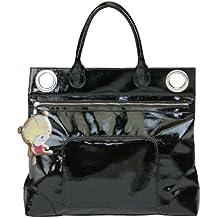 Jané Limited Edition - Bolso cambiador, diseño con adorno de osito en la cremallera, color negro