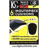 BG ABG A10L 6 Protèges-bec Noir 0,8 mm Large