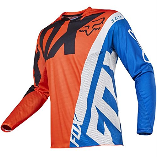 Fox 2017 Herren Motocross / MTB Jersey - 360 CREO - orange: Größe Jersey: S
