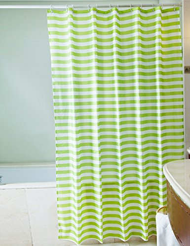 tende-da-doccia-verde-stripes-navy-style-doccia-tende-impermeabili-tende-piu-spesso-da-bagno-una-var