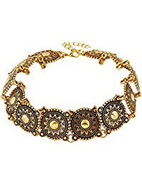 TBOP CHOKER NECKLACE THE BEST OF PLANET Simple And Stylish Jewelry Design Big Alloy Necklace Collar In Gold Color
