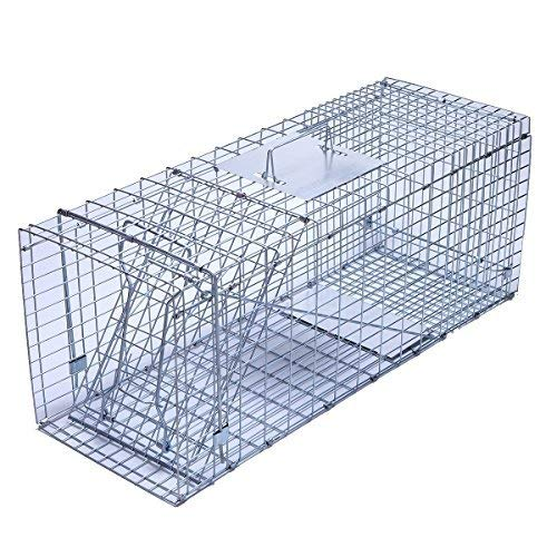 Live Animal Cage (trapro Große Faltbare Humane Live Animal Cage Trap für Waschbär, Beutelratte, Streunende Katzen, Kaninchen, Murmeltier und Armadillo)