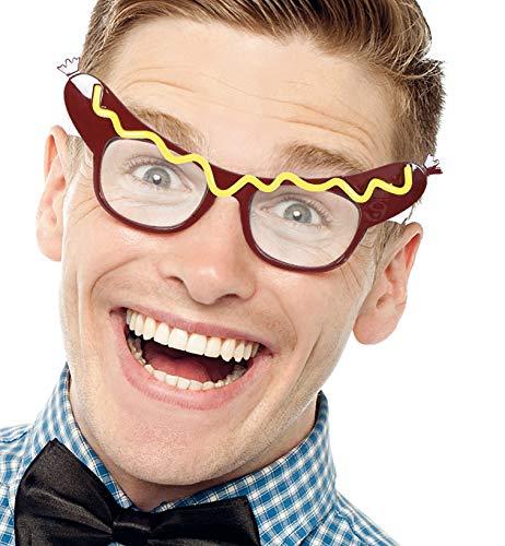 Party-Chic Brille Würstchen