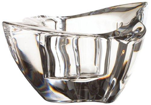 Villeroy & Boch NewWave Teelichthalter, 2er Set, Durchmesser: 2 cm, Kristallglas, Klar