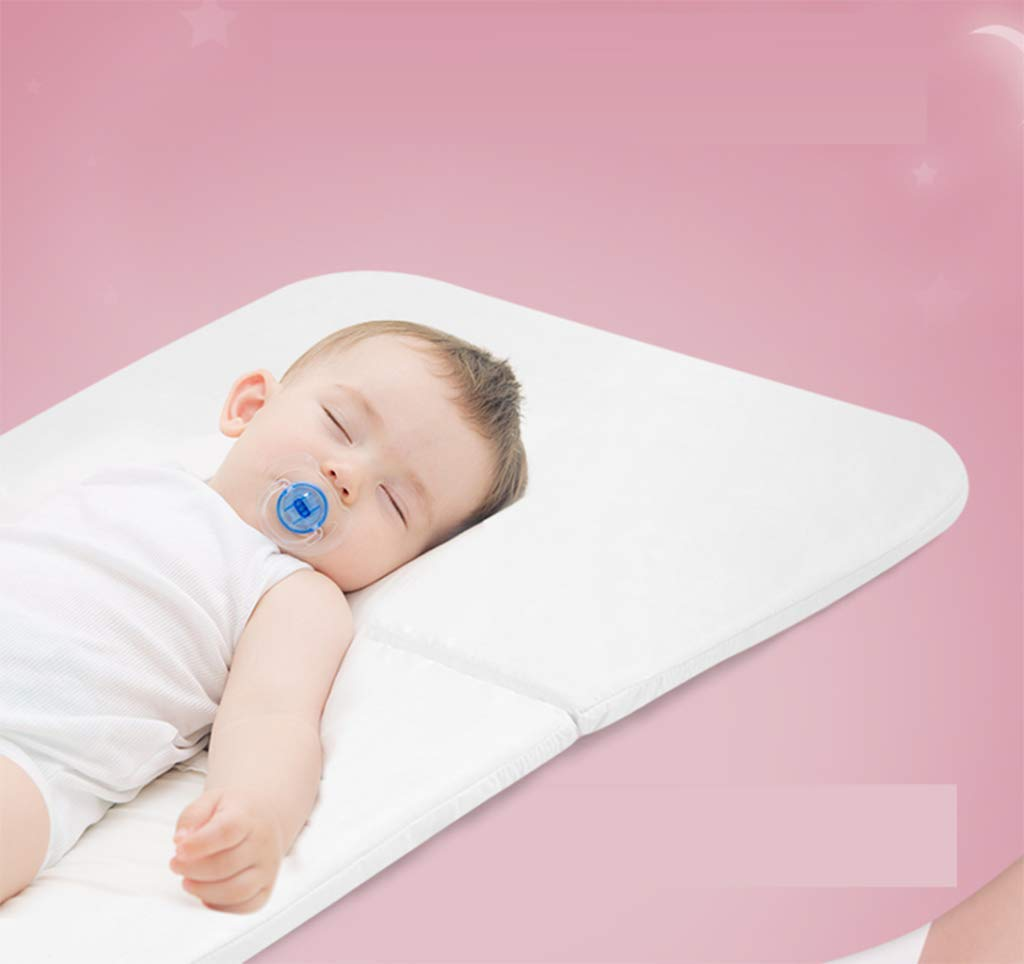 Baby cot - Multi-Functional, Lightweight Children's Bed Shaker, Baby Bed Foldable, Portable Travel Cradle Bed, Easy to fold, no Installation, Good Cleaning AYUANCHUN Lightweight design and rugged frame construction for maximum strength and stability. You can see your baby through a breathable, clear viewport, so you can rest as you wish. The portable cradle is the perfect solution for parents looking for a well-designed cradle, and it also provides excellent portability. The cradle can be easily folded and made of durable lightweight frame for easy transport. 3