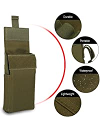 25 Rounds Shotshell Pouch Holder,12GA 12 Gauge Compact Foldable Tactical Ammo Mag Bag Rifle Cartridge Holder Carrier...